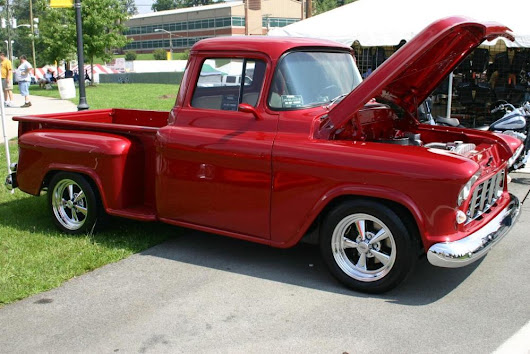 1955 chevy truck owners manual