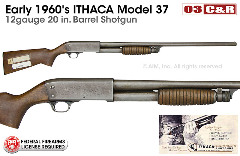 ithaca model 37 featherlight owners manual