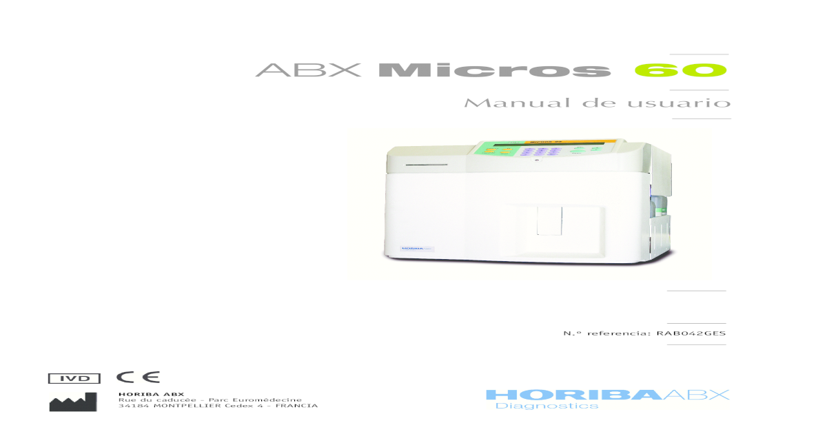 abx micros 60 service manual download