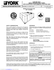 york package unit service manual