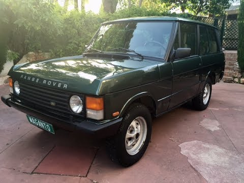 1990 range rover classic owners manual