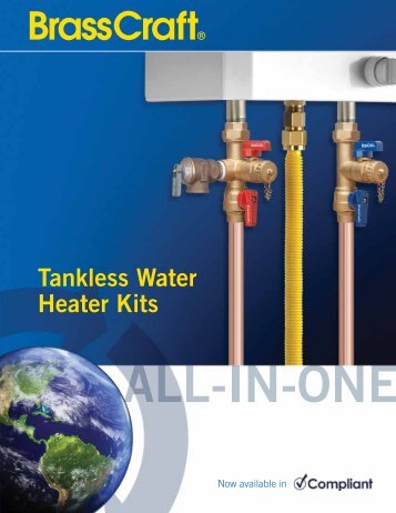 tankless water heater service manual